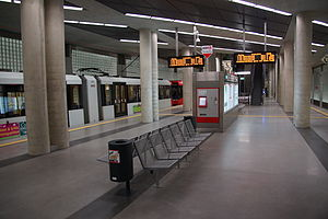 Heumarkt (KVB) - Heumarkt station