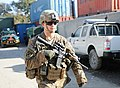 U.S. Army Spc. Austin Nolin, a reconnaissance rifleman with the 2nd Battalion, 30th Infantry Regiment, 4th Brigade Combat Team, 10th Mountain Division, escorts security forces advise and assist team members from 140102-A-NS540-040.jpg