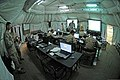 U.S. Marines and Soldiers work in the Joint Operations Center in Agadir, Morocco, April 8, 2012, during African Lion 2012 120408-A-QD330-027.jpg