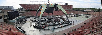 Commonwealth Stadium (Edmonton) - U2 during its U2 360° Tour on June 1, 2011, which drew a record 65,000 crowd