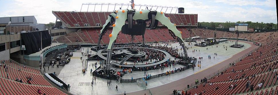 U2 360° Tour, Edmonton