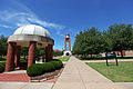 UAFS Bell Tower and Greens.jpg