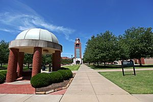 University of Arkansas–Fort Smith - Image: UAFS Bell Tower and Greens