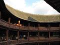 UK - 34 - Globe Theatre - roof catching the evening sun (2997021285).jpg
