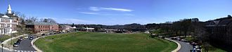 University of North Georgia - Image: UNG drill field panorama