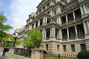 Eisenhower Executive Office Building - Image: USA Executive Office Building