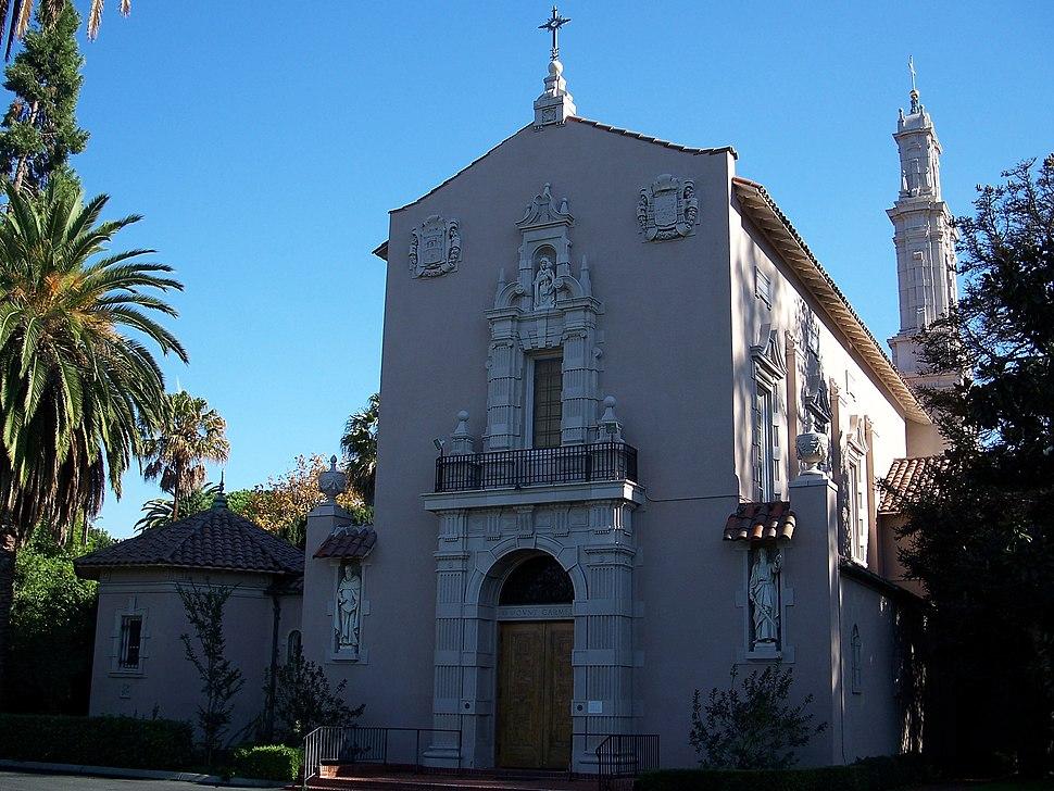 USA-Santa Clara-Carmelite Convent-1 (cropped)