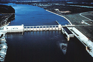 Alabama River - Image: USACE Robert F Henry Lock and Dam