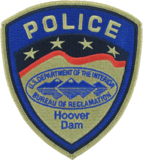 Hoover Dam Police federal security police force, stationed at Hoover Dam, United States