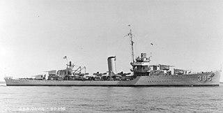 USS <i>Davis</i> (DD-395) Somers-class destroyer