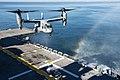 USS Iwo Jima conducts flight operations. (15407886074).jpg