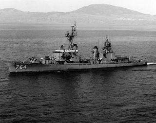 USS <i>Lloyd Thomas</i> (DD-764) Gearing-class destroyer