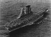 USS Saratoga (CV-3) landing planes on 6 June 1935 (80-G-651292)
