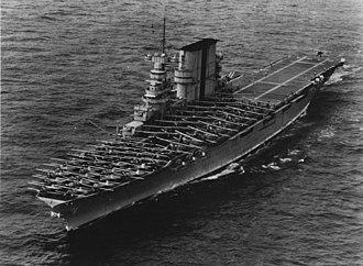 USS Saratoga (CV-3) - Saratoga landing aircraft, 6 June 1935