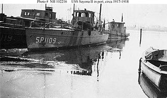USS Sayona II (SP-1109) - Image: USS Sayona II (SP 1109)