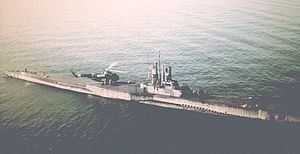 Sealion (APSS-315), May 1956.