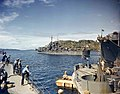 USS St. Louis (CL-49) at Tulagi, circa in 1943 (80-G-K-3971).jpg