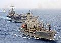 US Navy 030403-N-9964S-003 USS Harry S. Truman (CVN 75) comes alongside the Military Sealift Command Oiler USNS John Lenthall (T-AO 189) for an underway replenishment (UNREP).jpg