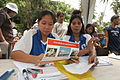 US Navy 060529-N-6501M-012 Local Filipino volunteers prepare the necessary paperwork needed to participate in a Medical Civil Action Program (MEDCAP) located on Basilan Island.jpg
