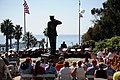 US Navy 081025-N-2959L-040 Citizens of San Clemente, Calif., and service members from the Navy and Marine Corps gather at Park Semper Fi's Marine Monument.jpg