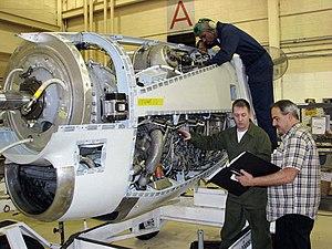 Allison T56 - Maintenance of a T56-A-16, 2009