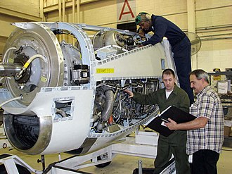 Allison T56 - Maintenance of a T56-A-16, 2009