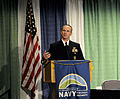 US Navy 111013-N-FC670-033 Chief of Naval Operations (CNO) Adm. Jonathan Greenert delivers the keynote speech at the Naval Energy Forum at the Rona.jpg