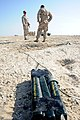 US Navy 111121-N-RP435-151 Explosive ordnance disposal (EOD) technicians, prepare explosives for a demonstration during Neon Response 2012 (NR 12).jpg