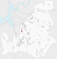 Ubicación de Berrimes en el municipio Lousame.png
