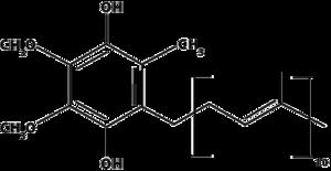 Ubiquinol molecule