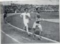 Ugo Frigerio precede Gordon Goodwin e Cecil McMaster ai Giochi olimpici di Parigi 1924 - Marcia 10 km.png