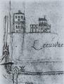 Uitsnede van Oldehove van de oudste map van Leeuwarden door Jacob Heeres - +-1553.tif