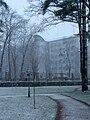 Ukraine Irpen 2010. First snow. Local clinic 3.jpg