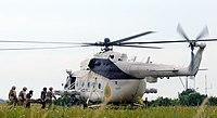 Ukrainian Mi-8 helicopter, Sea Breeze 2011 cropped.jpg