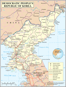 an enlargeable map of the democratic peoples republic of korea