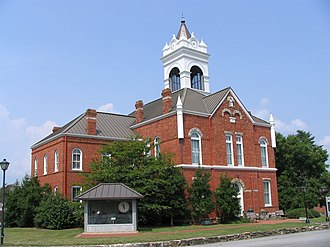 Union County, Georgia - Image: Union County Georgia Courthouse