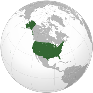 English: The United States Esperanto: Loko de ...