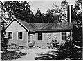 Uno och Georgs Sandbergs första Gjuteribyggnad i Gemla 1914 .jpg