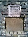 Unusual Plaque in Wall, Westgate - geograph.org.uk - 540864.jpg
