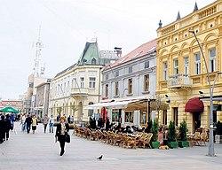 Urban promenade of Čačak.jpg