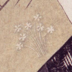 Three Beauties of the Present Day - Image: Utamaro Three Beauties Tomimoto Toyohisa Japanese primrose crest