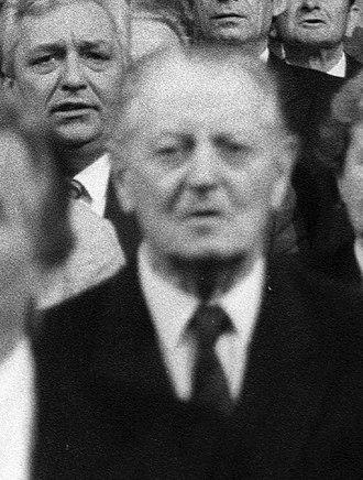 1990 Hungarian parliamentary election - Image: Vörös Vince 1990
