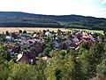 Výhled z Hudlické skály, směr Hudlický vrch (02).jpg