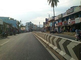 Vadavalli Neighbourhood in Coimbatore, Tamil Nadu, India