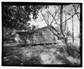 VIEW OF SIDE LOOKING WEST - 815 Long Bewick Street (House), Waycross, Ware County, GA HABS GA-2228-4.tif