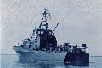 USCGC Point Welcome (WPB-82329) - Image: VTN Pt Welcome 1