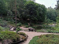 VU Botanical Garden Parco giapponese Kairenai 20190621.jpg