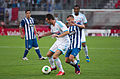 Valais Cup 2013 - OM-FC Porto 13-07-2013 - Morgan Amalfitano et Marat Izmaylov 1.jpg