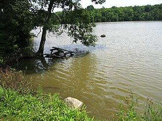 Allen Township, Hancock County, Ohio - Lake at Van Buren State Park