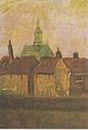 Van Gogh - Die neue Kirche und alte Häuser in Den Haag.jpeg